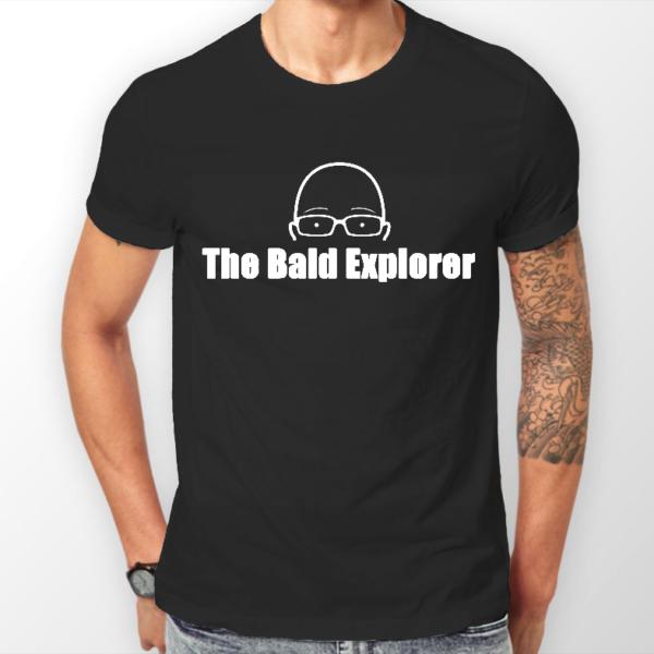 Mens-Black T-Shirt