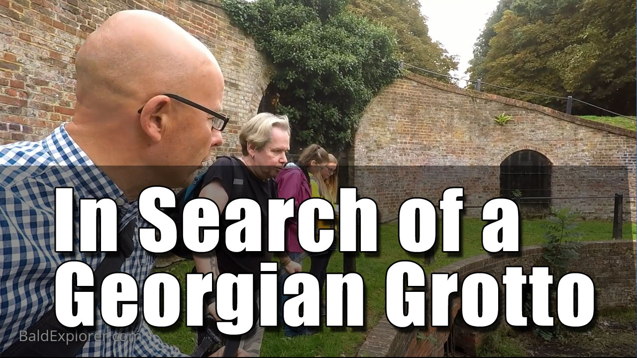 In search of the Georgian Grotto in Carshalton Park
