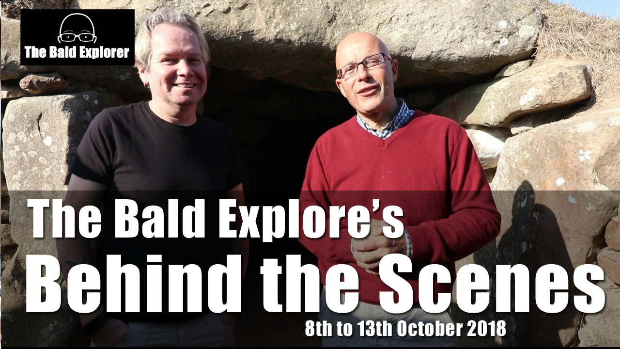 Behind the Scenes - 8th -13th October 2018