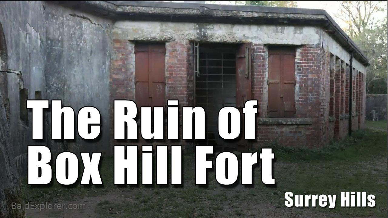 A Stamp Around Box Hill Fort in Surrey