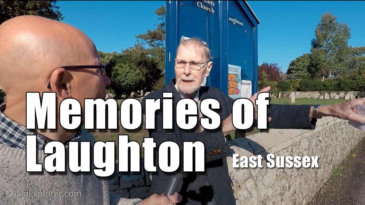Eric's Memories of War Time Laughton in East Sussex