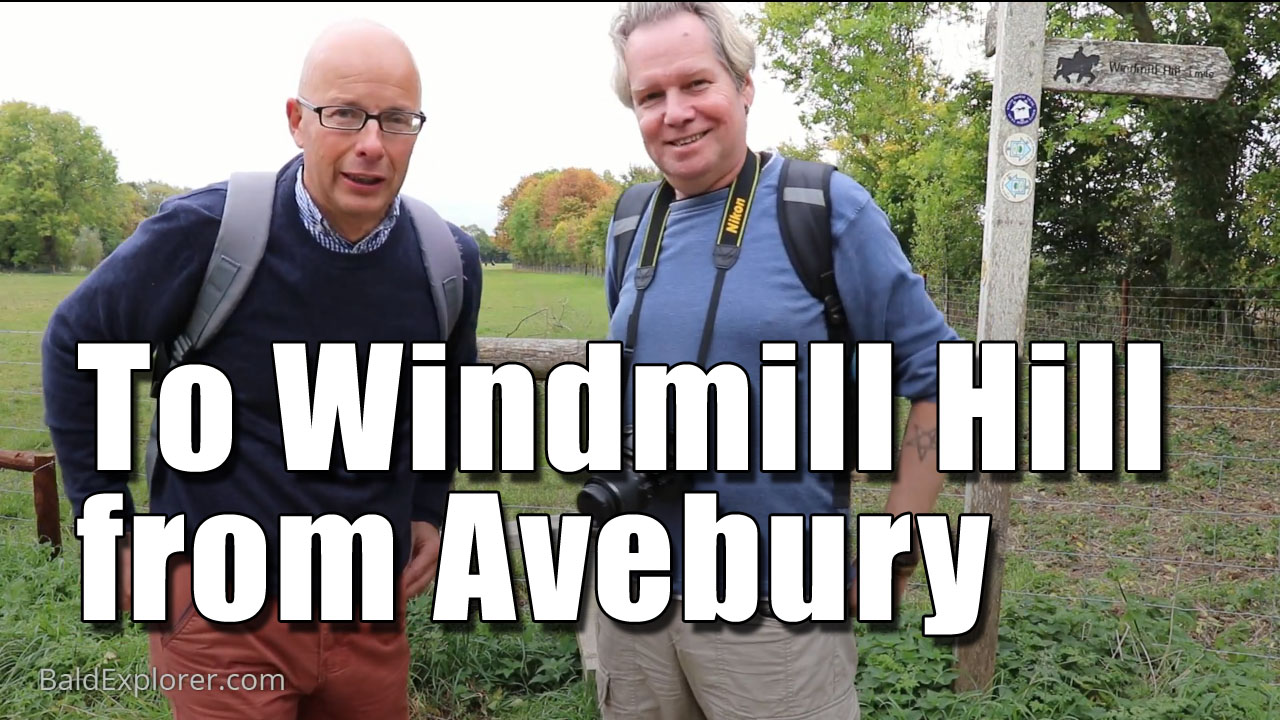 A Walk From Avebury to Windmill Hill in Wiltshire