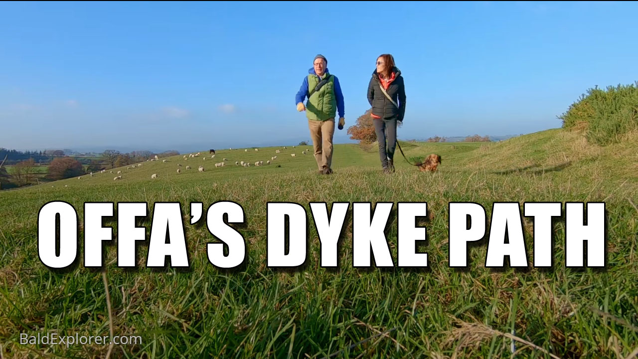 Offa's Dyke Path is a long-distance footpath following closely the Wales–England border.