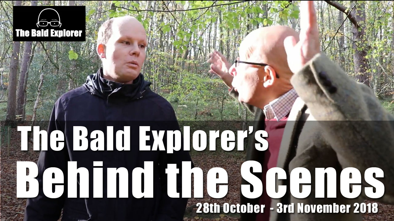 A peek behind the scenes of the Bald Explorer and what his week looked like.