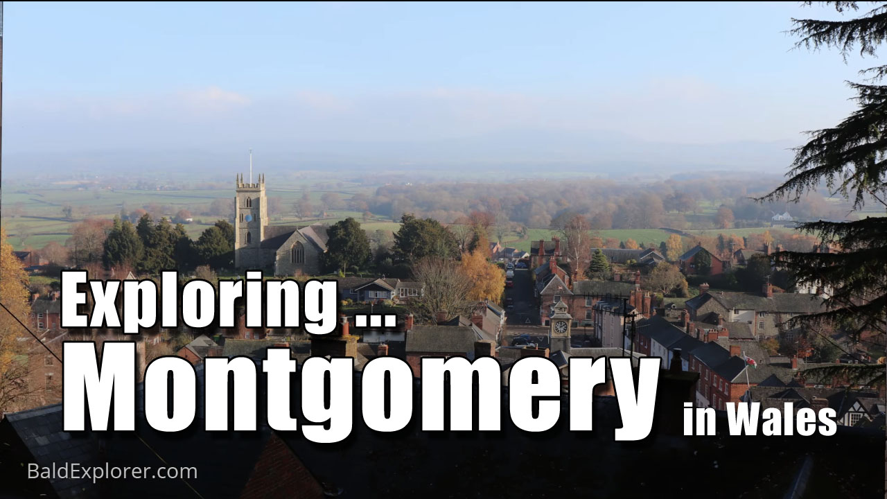Harriet, Lola and I go to Montgomery in Wales
