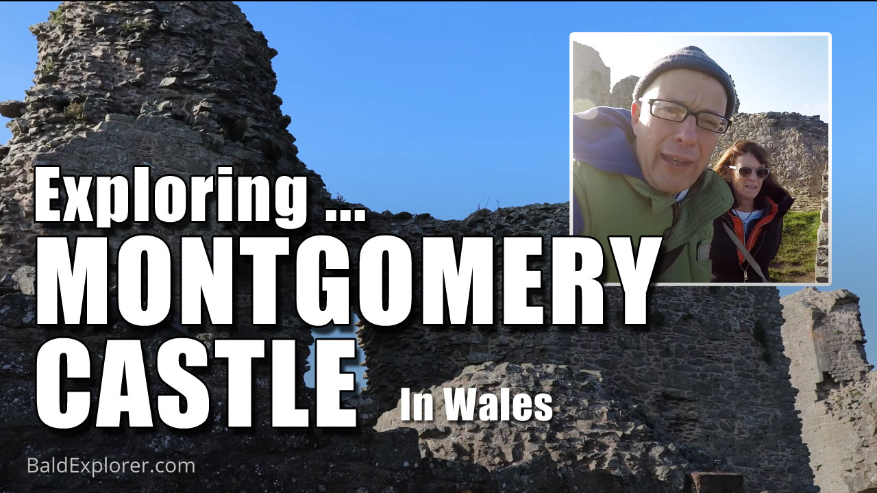 A jaunt around Montgomery Castle in Wales