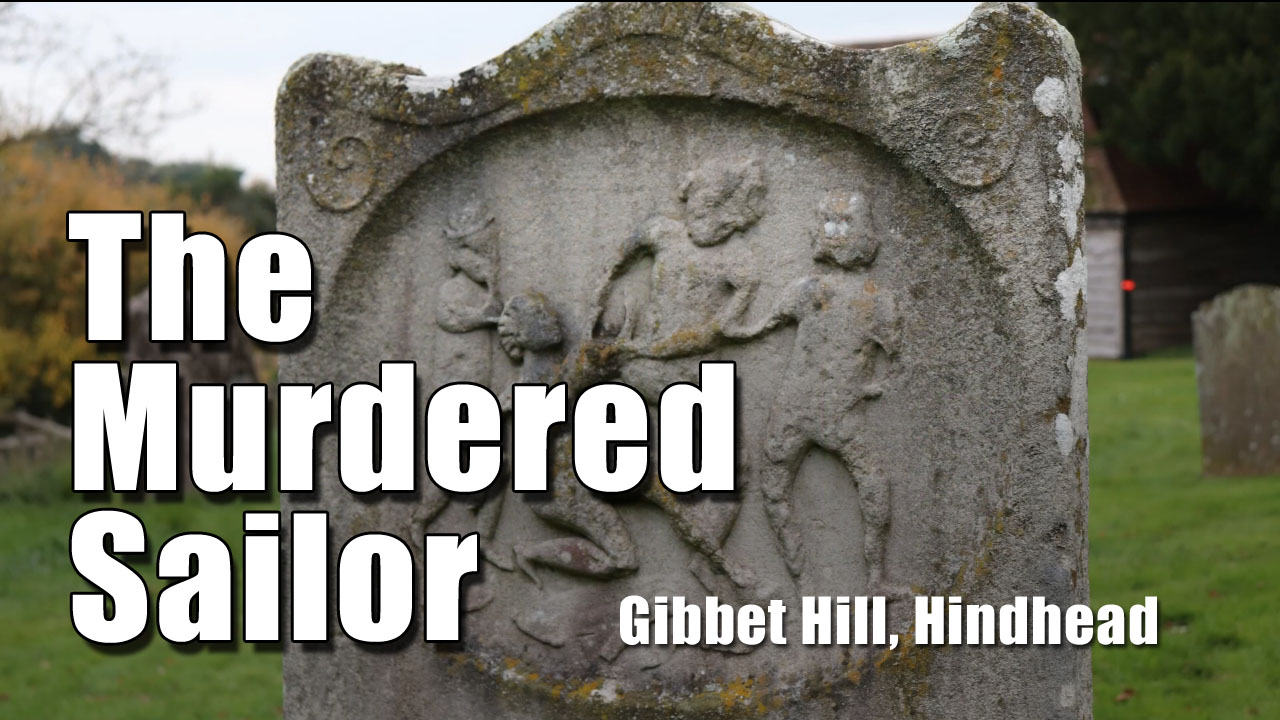 The Murdred Sailor on Gibbet Hill near Hindhead, Surrey