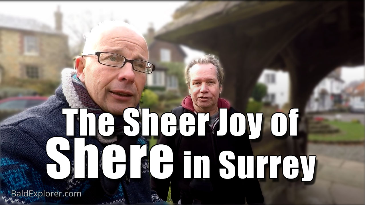 A Tour of the Beautiful Village of Shere in Surrey.