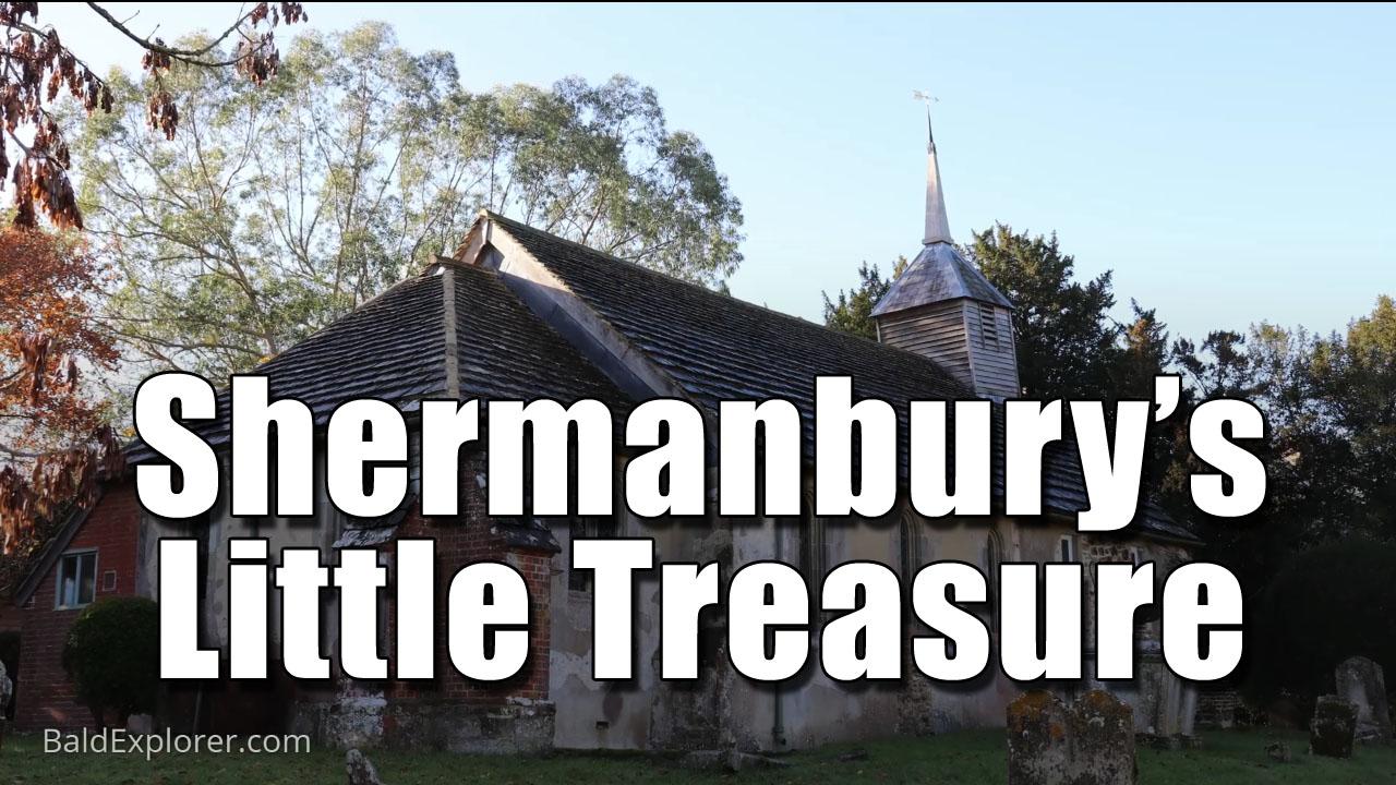 Exploring Shermanbury Church in West Sussex