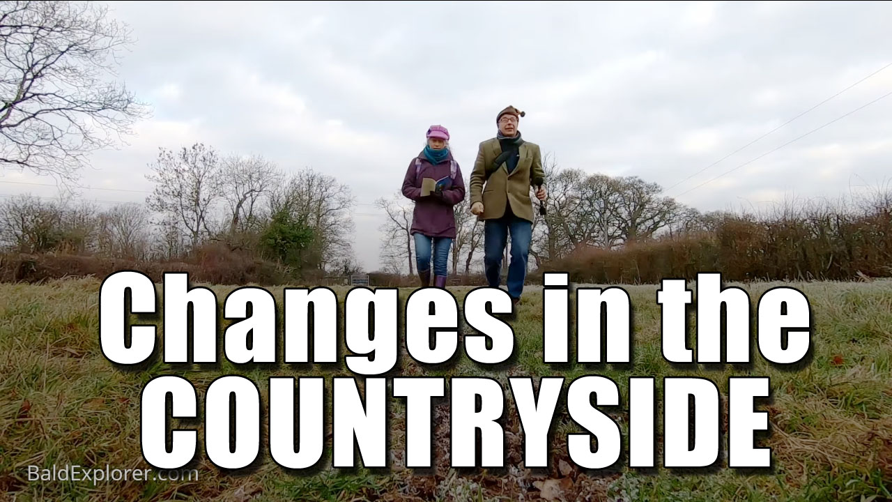 The Changes in The Countryside - Around Ashurst West Sussex