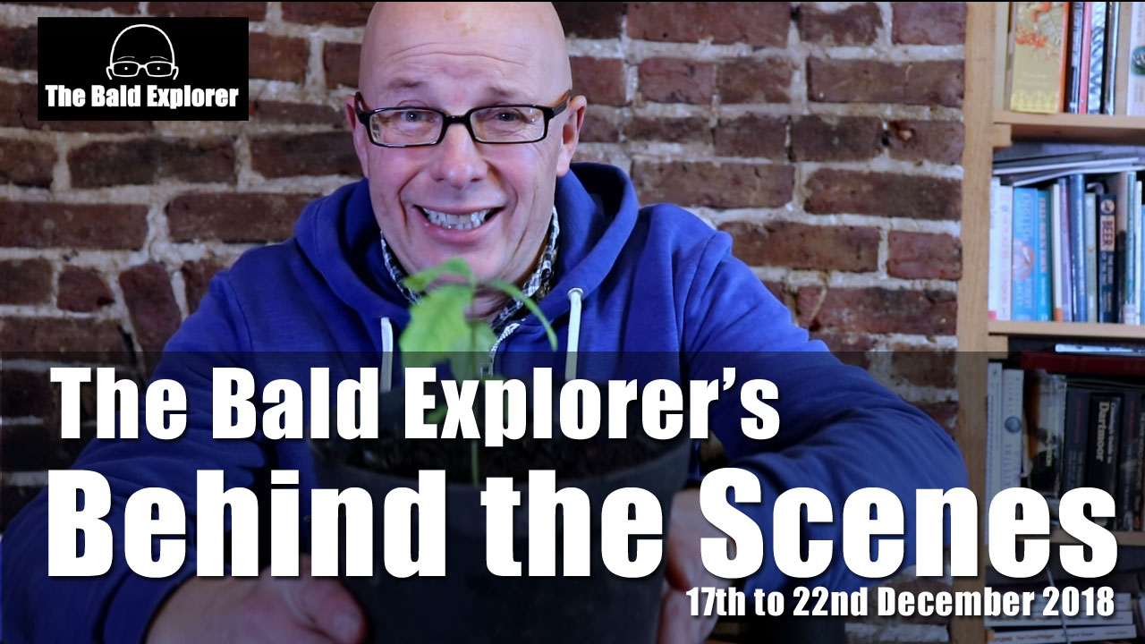 Behind the Scenes of the Bald Explorer: 17th-22nd Dec 2018