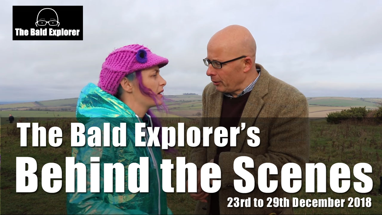 Behind the Scenes of the Bald Explorer: 23rd to 29th Dec 2018
