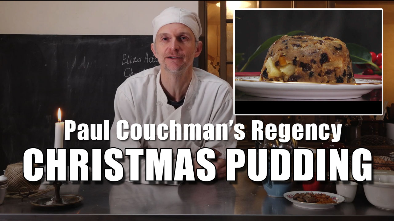 Paul Couchman's Regency Christmas Pudding Recipe