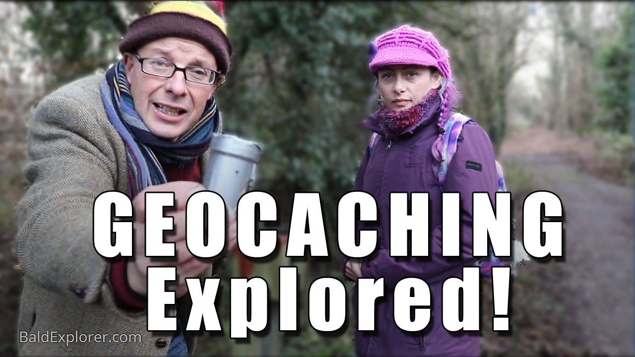 How to Geocache with the Bald Explorer and the Purple Ranger