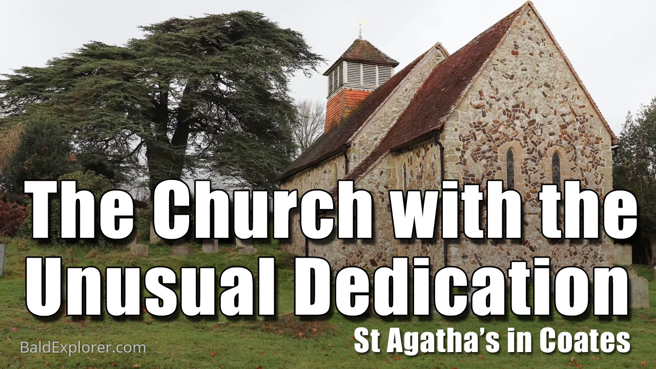 Exploring St Agatha's Church in Coates near Fittleworth