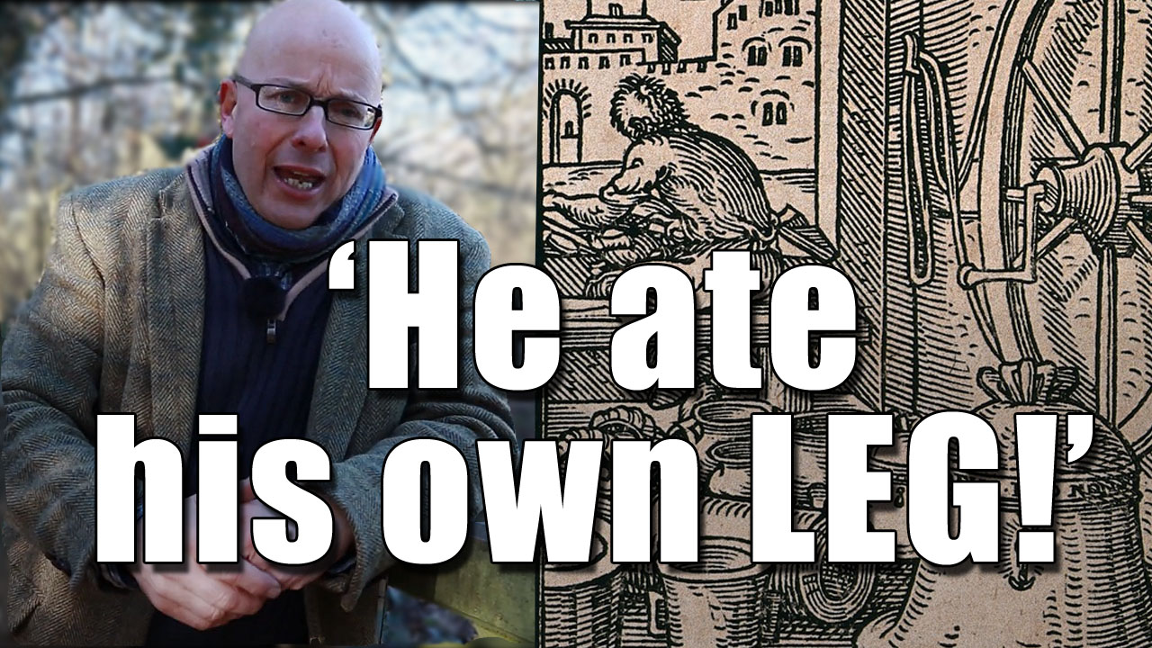 The Man Who Ate His Own Leg!