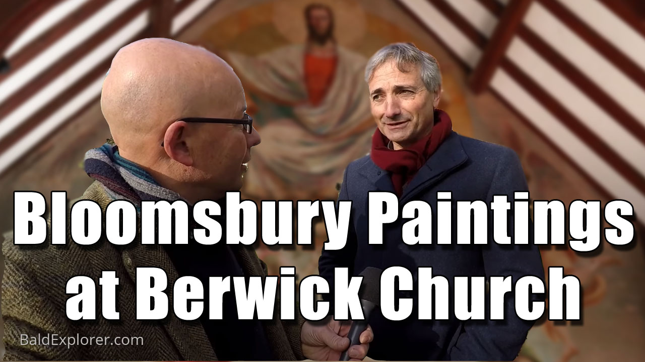 The Bloomsbury Paintings at Berwick Church in East Sussex
