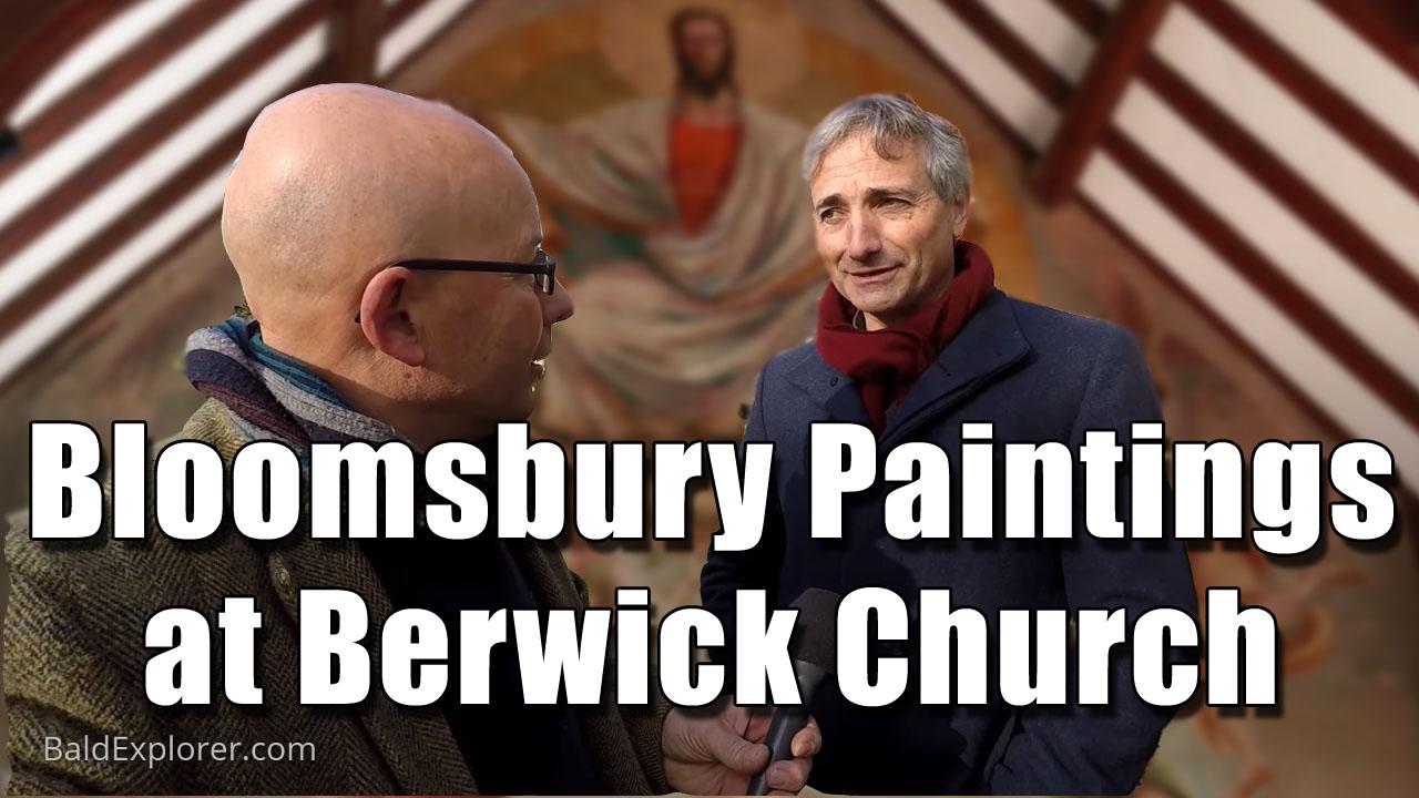 The Bloomsbury Paintings at Berwick Church in East Sussex
