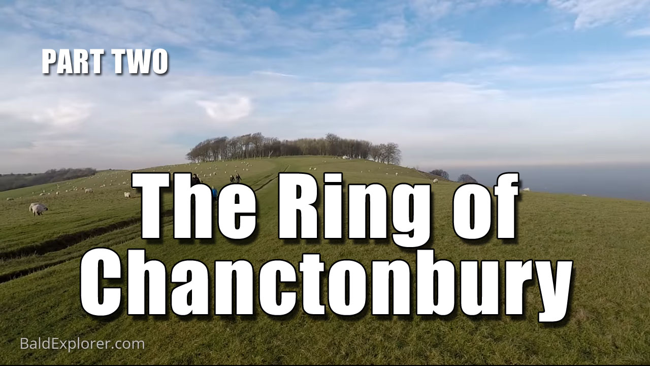 To Chanctonbury Ring in the Winter - Part Two