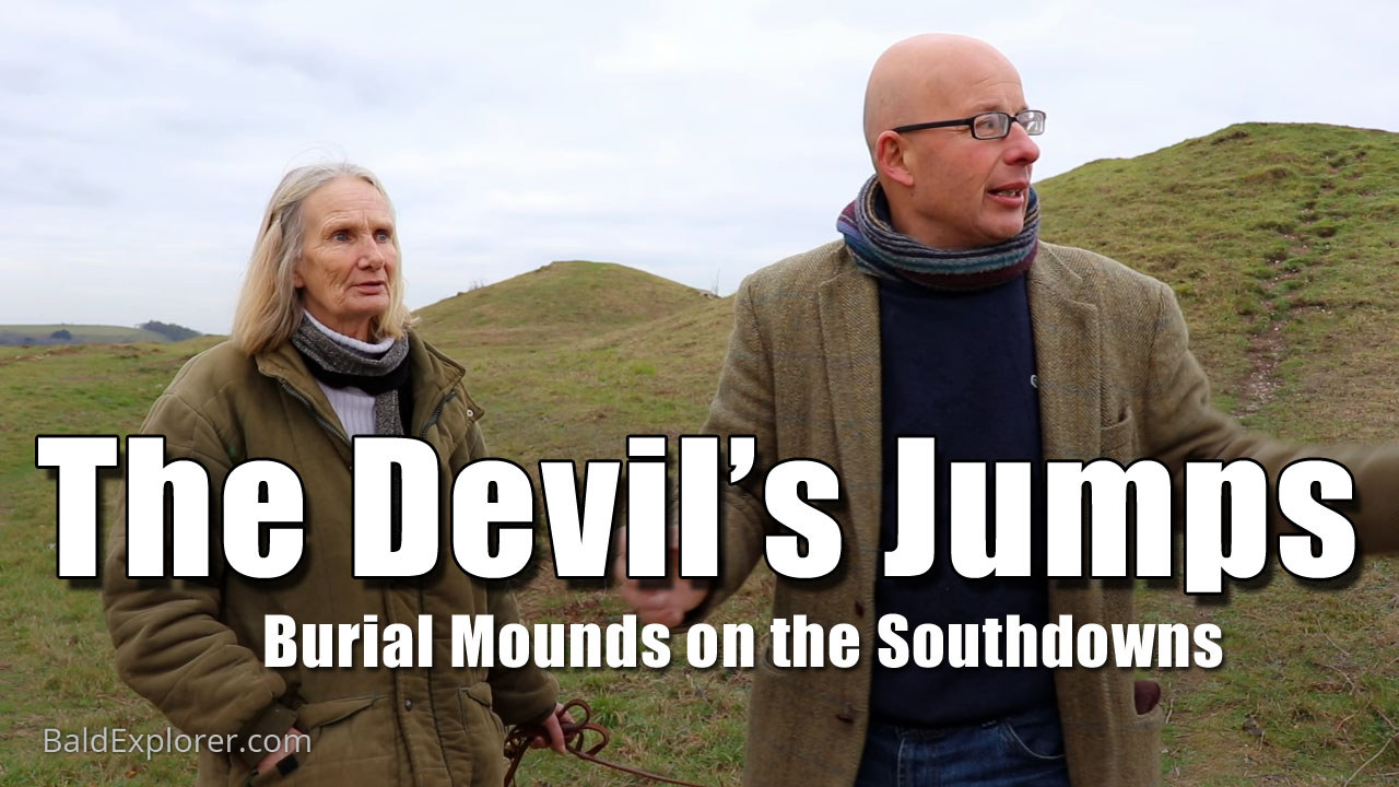 To the Devils Jumps on the Southdowns!