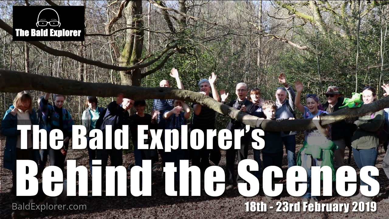 Behind The Scenes of the Bald Explorer - 18th to 23rd Feb 2019