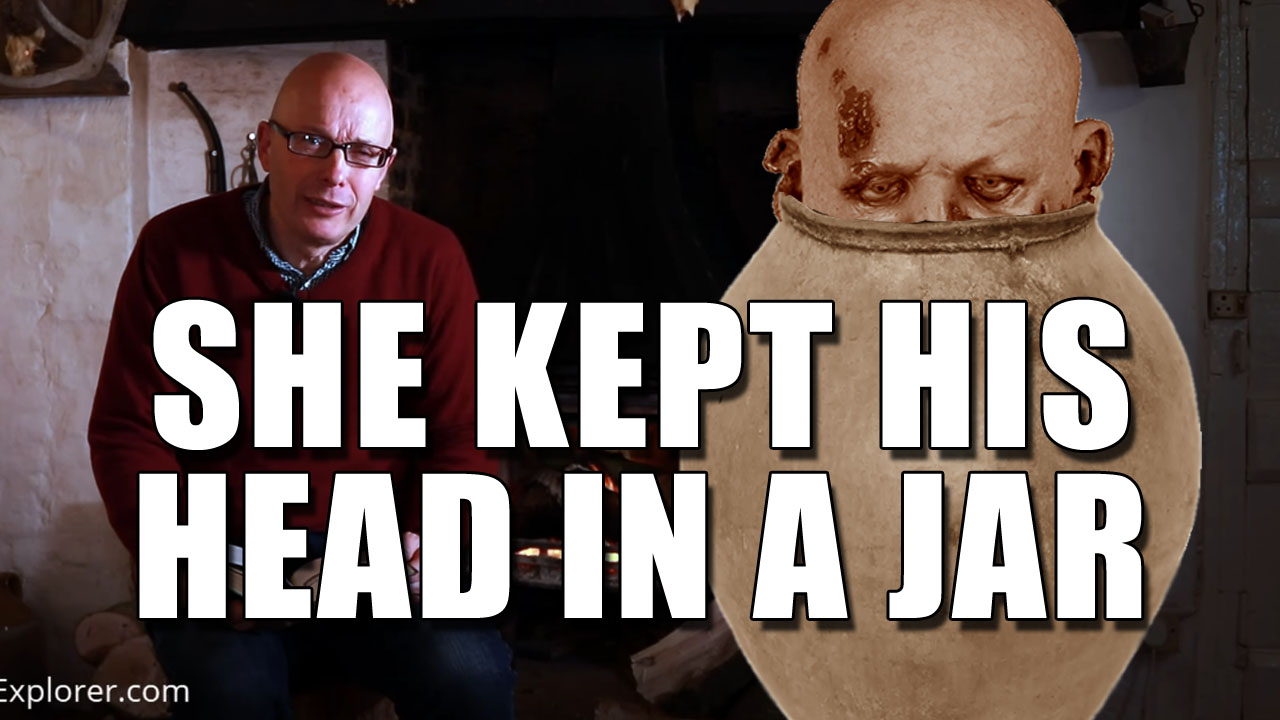 The Woman Who Kept Her Husband's Head In a Jar!