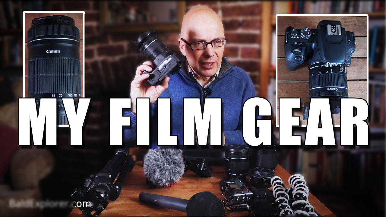 The Film Gear I Take on Location