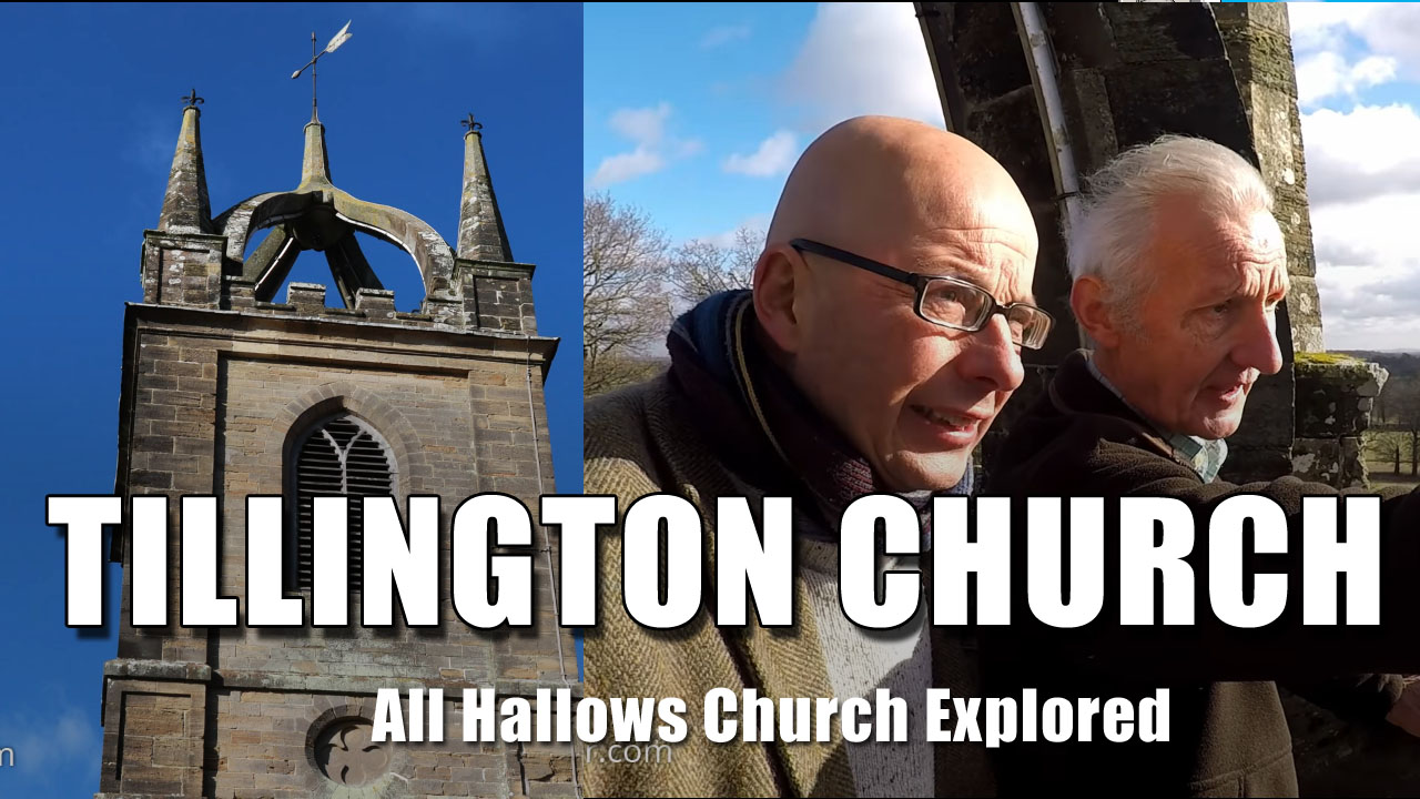 Exploring Tillington Church in West Sussex