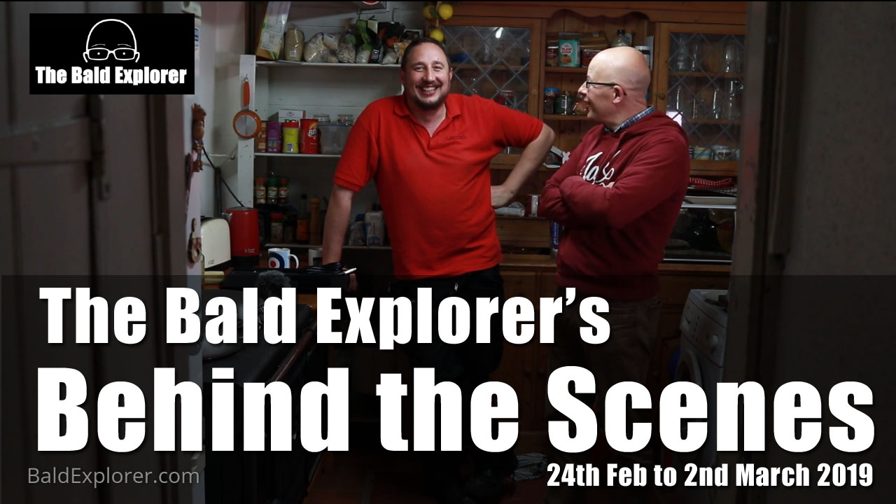 Another chance to see what goes on behind the scenes during a week of filming with Bald Explorer.
