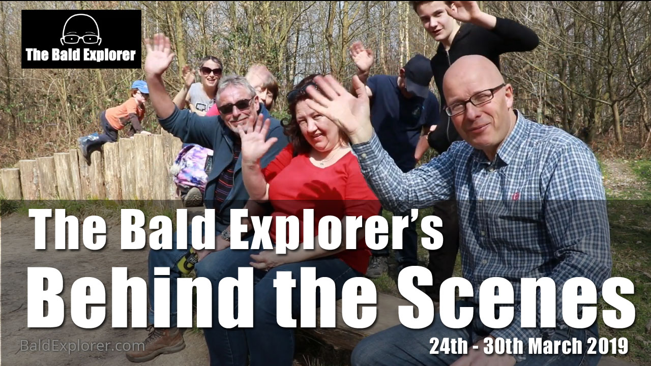 Behind the Scenes of The Bald Explorer - 24th March 2019