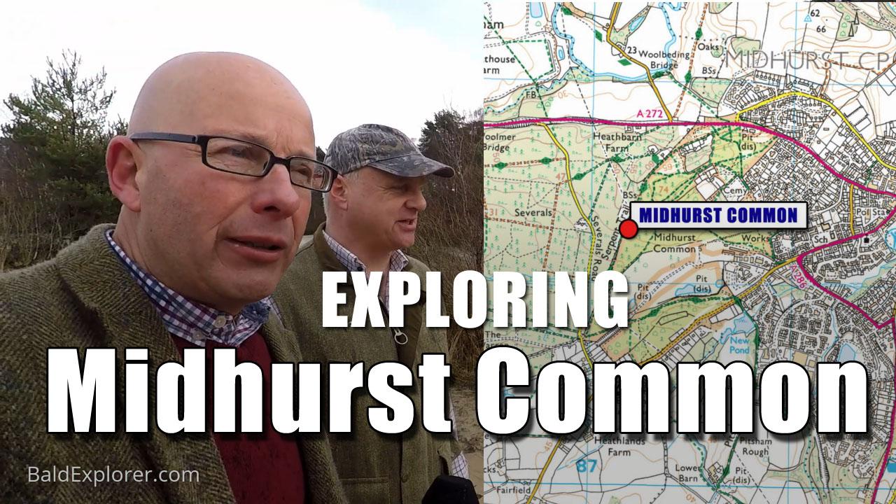 Exploring Midhurst Common
