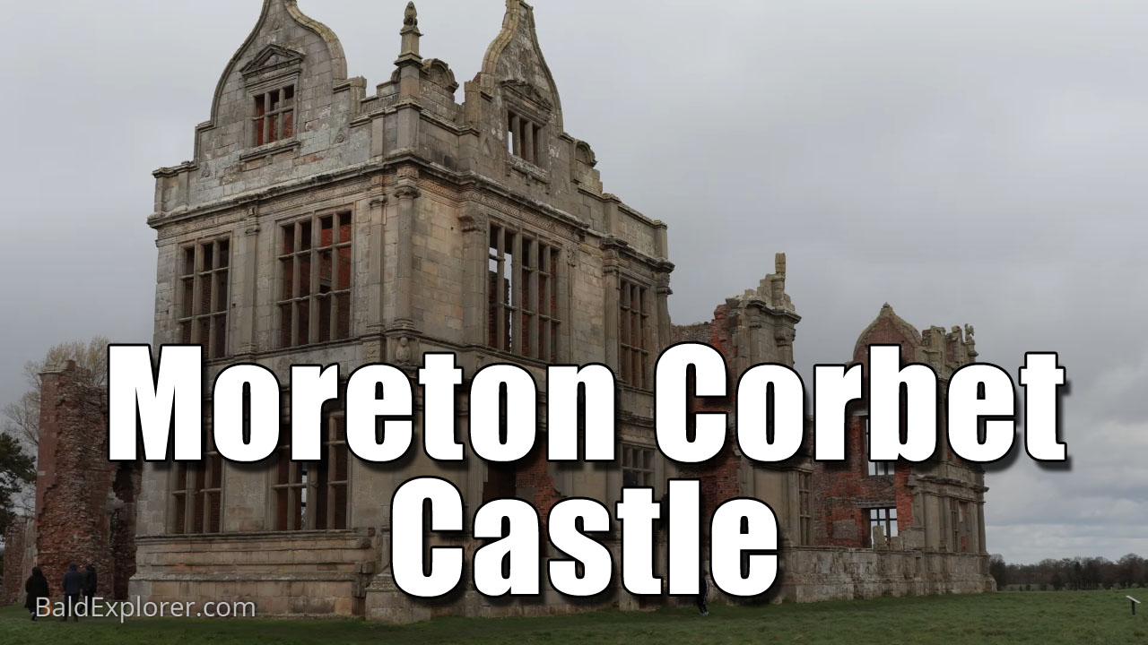 Exploring Moreton Corbet Castle in Shorpshire