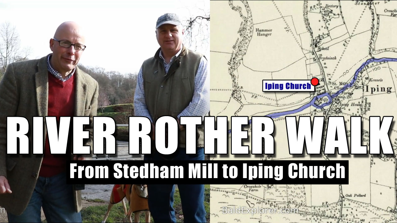 From Stedham Mill to Iping Church - River Rother Walk