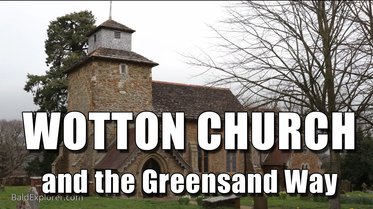 Wotton Church and The Greensand Way in Surrey