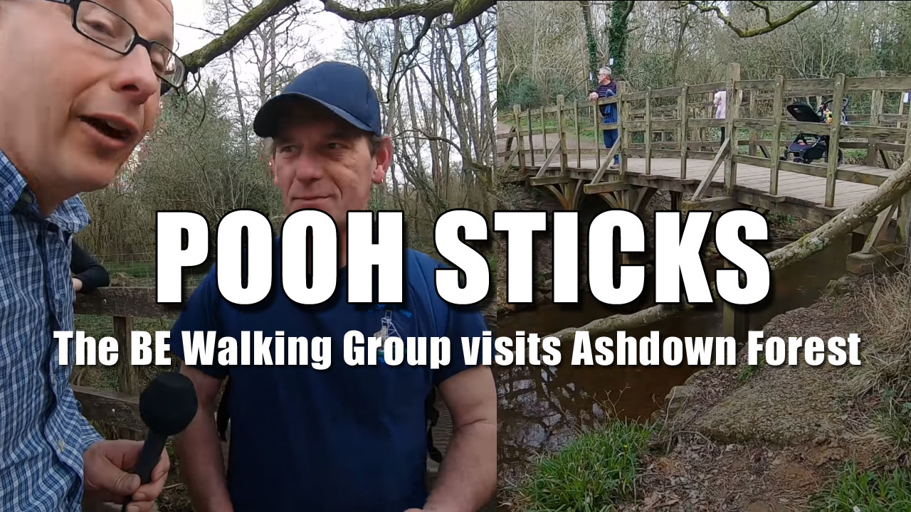 The Bald Explorer Walking Group goes to Ashdown Forest