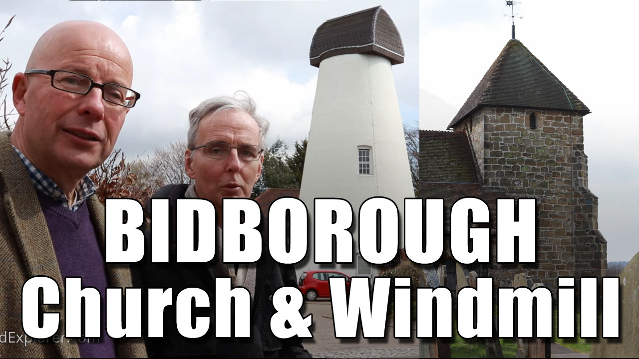 Exploring Bidborough Church and Windmill in Kent