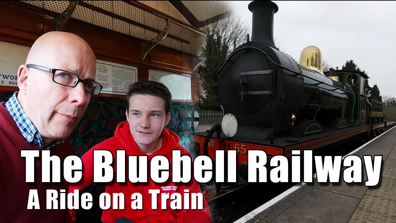 The Bluebell Railway - a Ride on a Train!