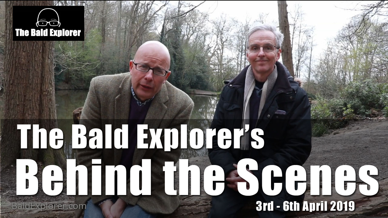 Behind the Scenes of the Bald Explorer - 3rd-6th April 2019