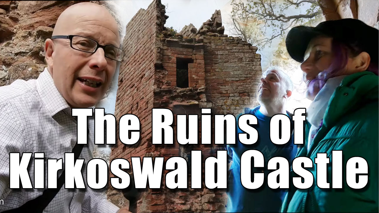 Exploring Kirkoswald Castle in Cumbria