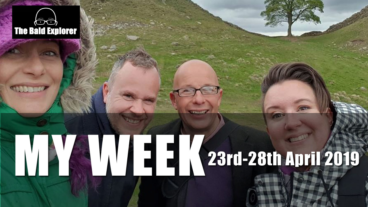 MY WEEK IN CUMBRIA - 23rd to 28th April 2019