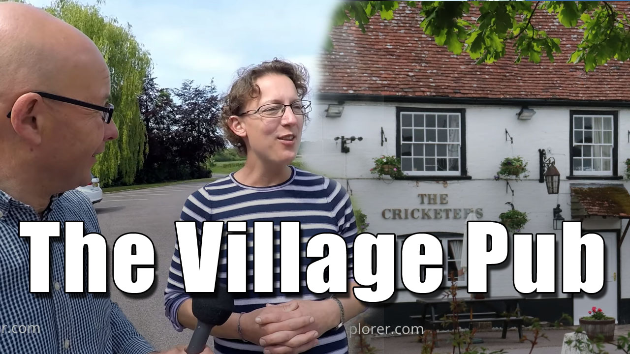 Duncton Village - A Visit to the Cricketers Pub