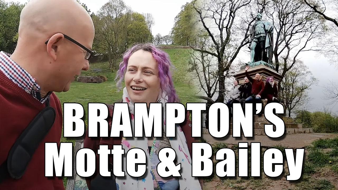 We Climb Brampton's Motte in Cumbria!