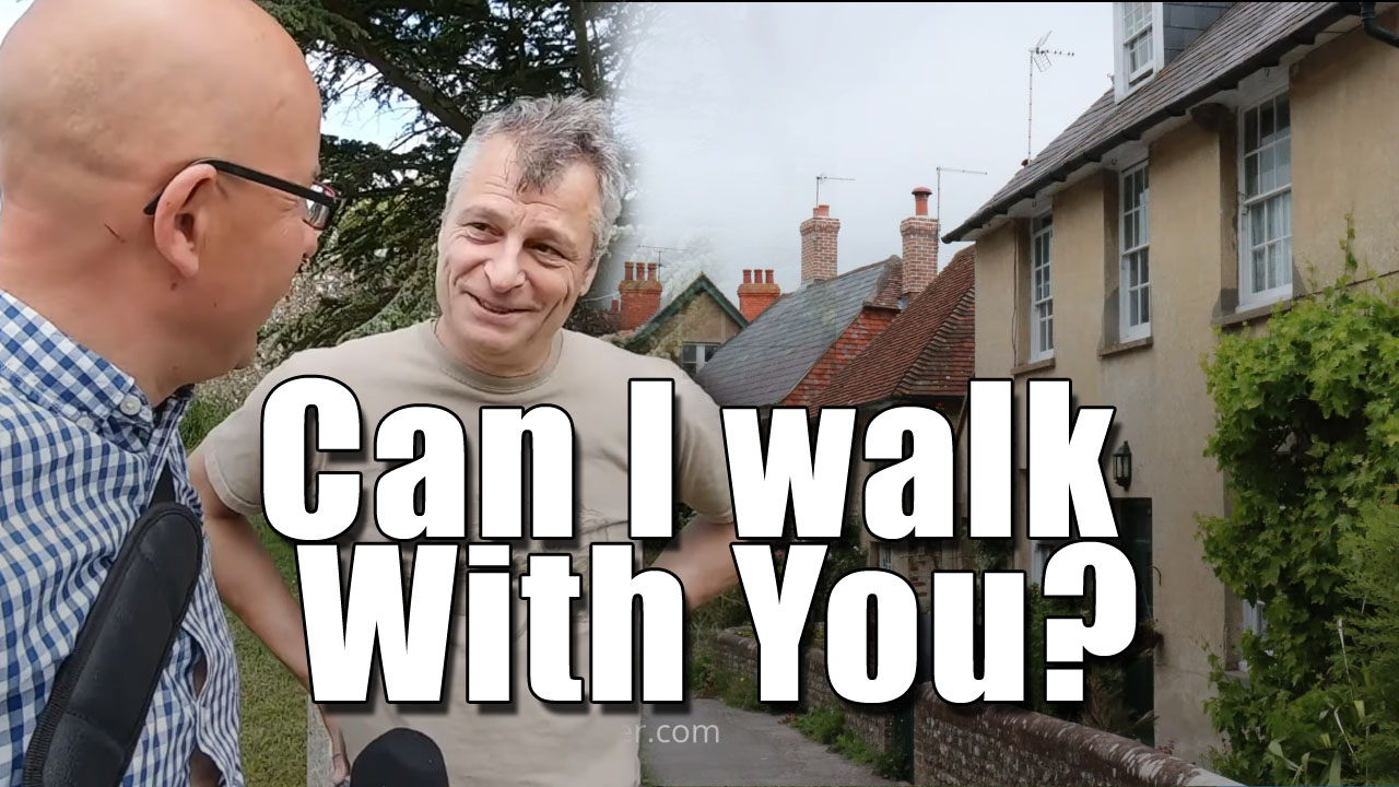 Ed's Birthday Walk Around the Beautiful Village of Firle, East Sussex.