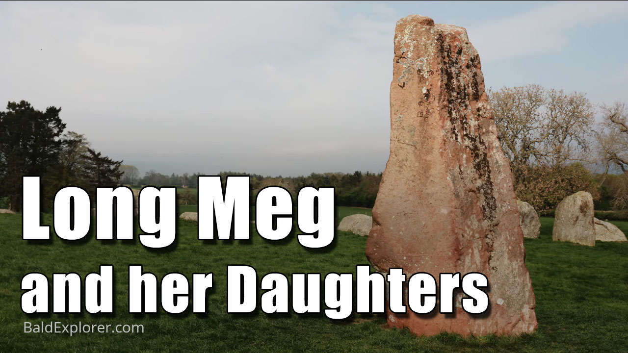 Long Meg Stone Circle in Cumbria