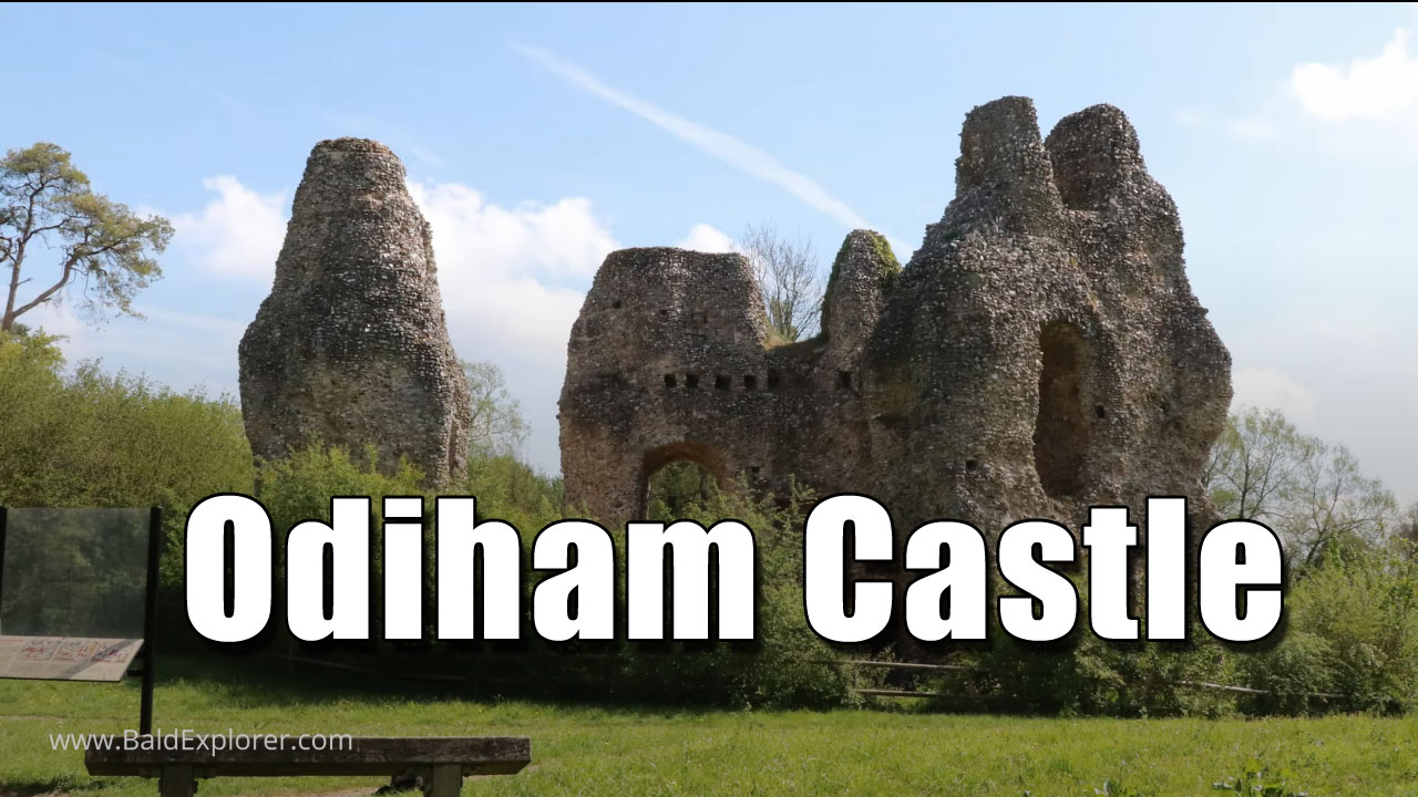 The Castle of King John at Odiham