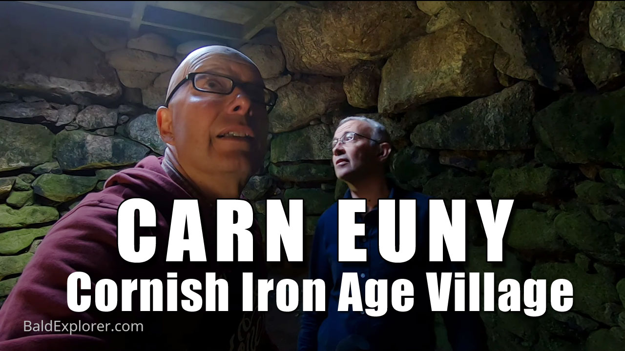 Exploring Cornwall - Iron Age Village Carn Euny