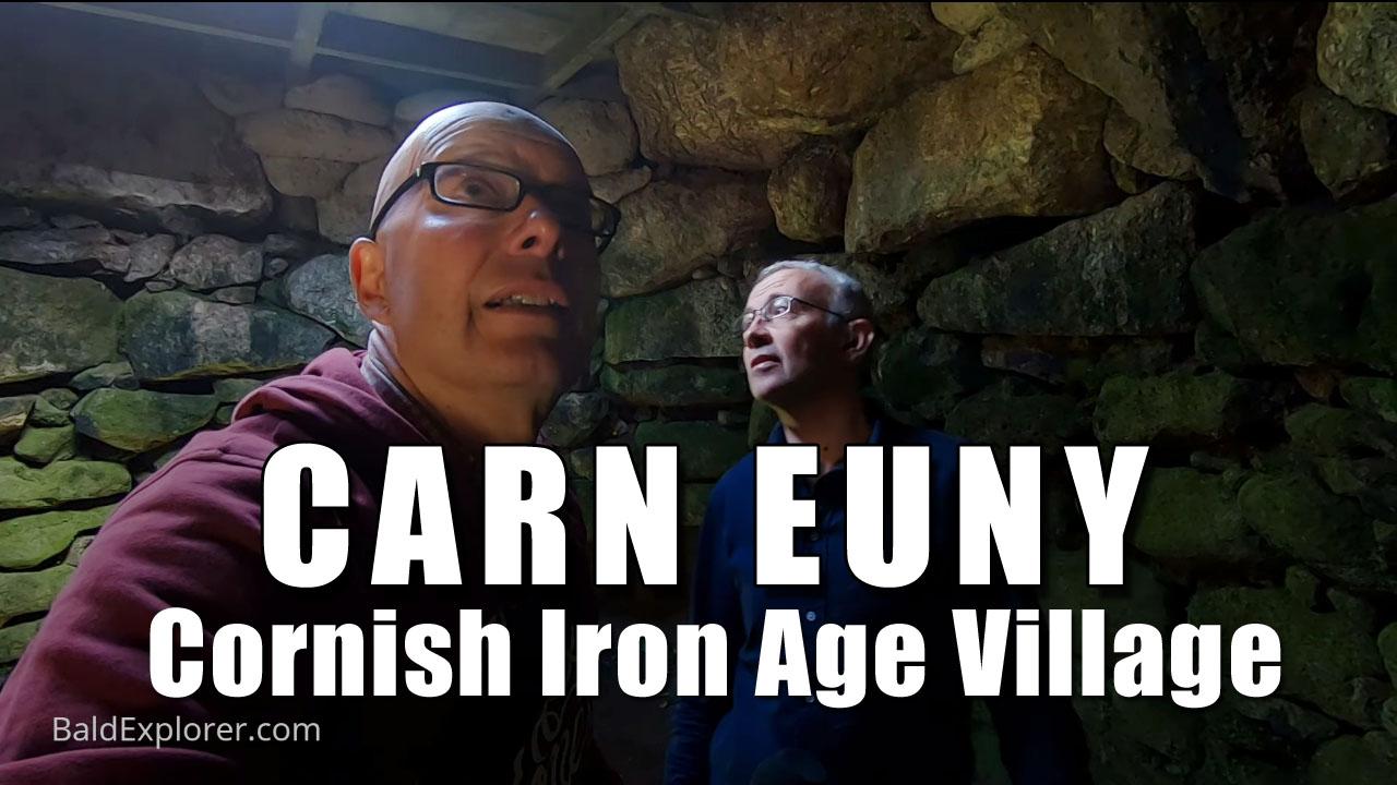 Exploring Cornwall - Iron Age Village Carn Euny