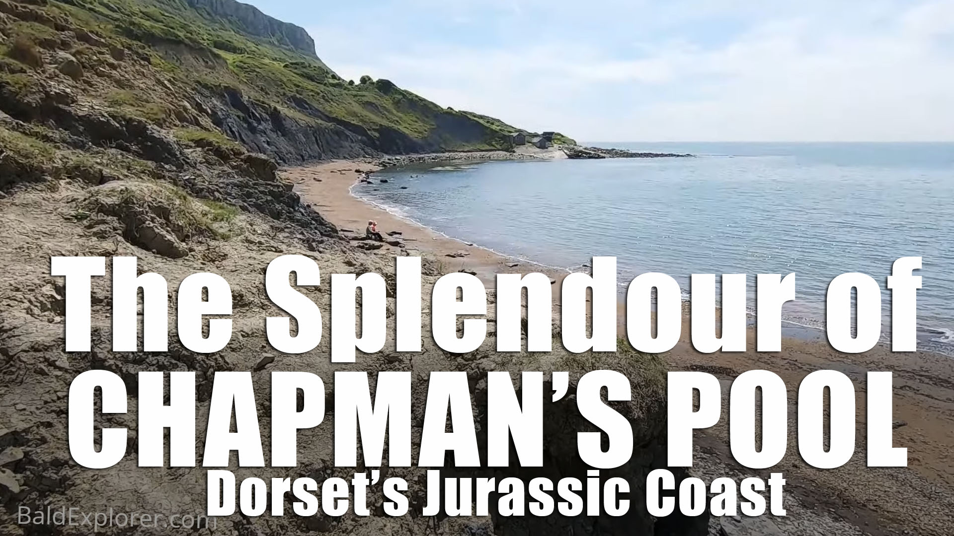 Dorset's Jurassic Coast - a scramble down to Chapman's Pool