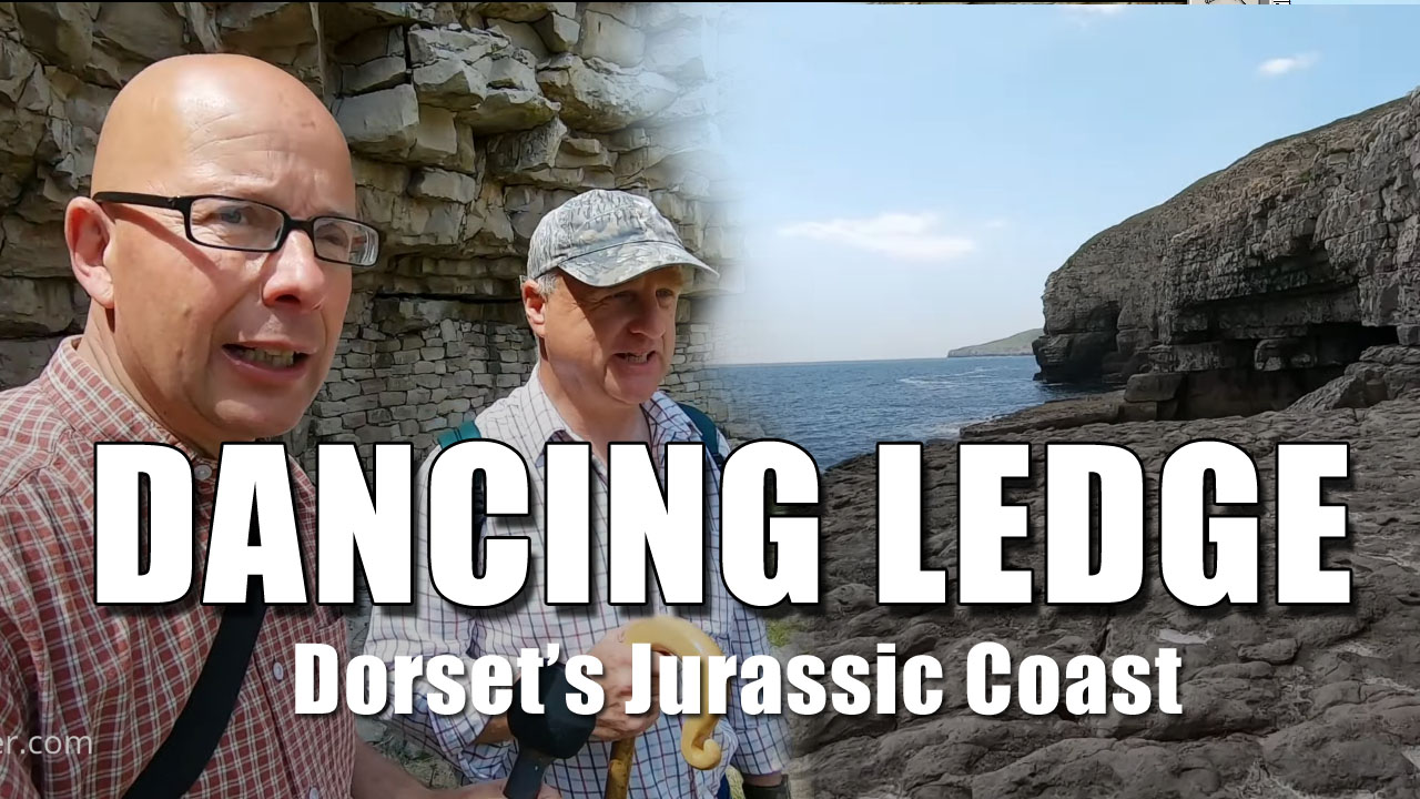 Dorset's Jurassic Coast - Bald Explorer goes to Dancing Ledge