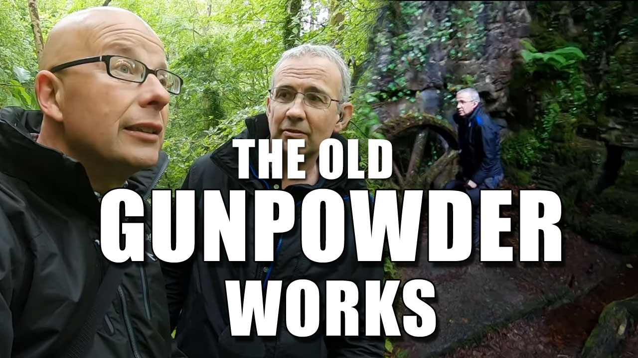 Exploring Cornwall - The Gunpowder Works of Kennal Vale